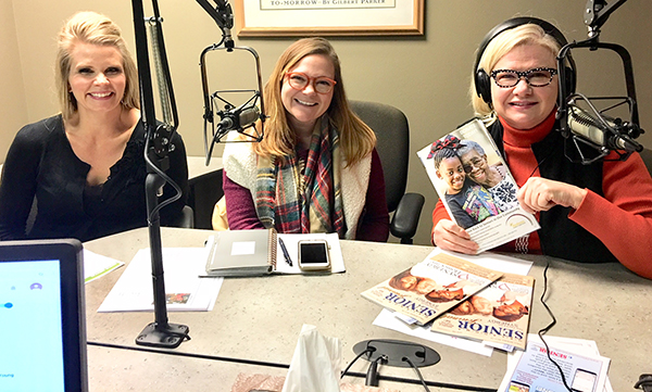 Erin Engelke, Chief External Relations Officer for Sunbeam Family Services, and Chelsea Rose, Director of Community Engagement with Catholic Charities • Archdiocese of Oklahoma City